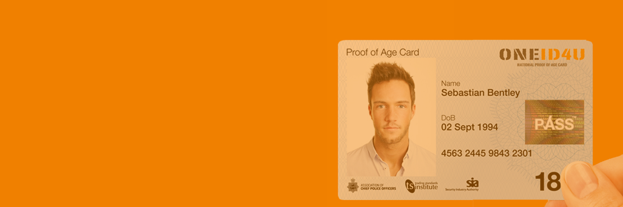 Official UK Proof of Age Card